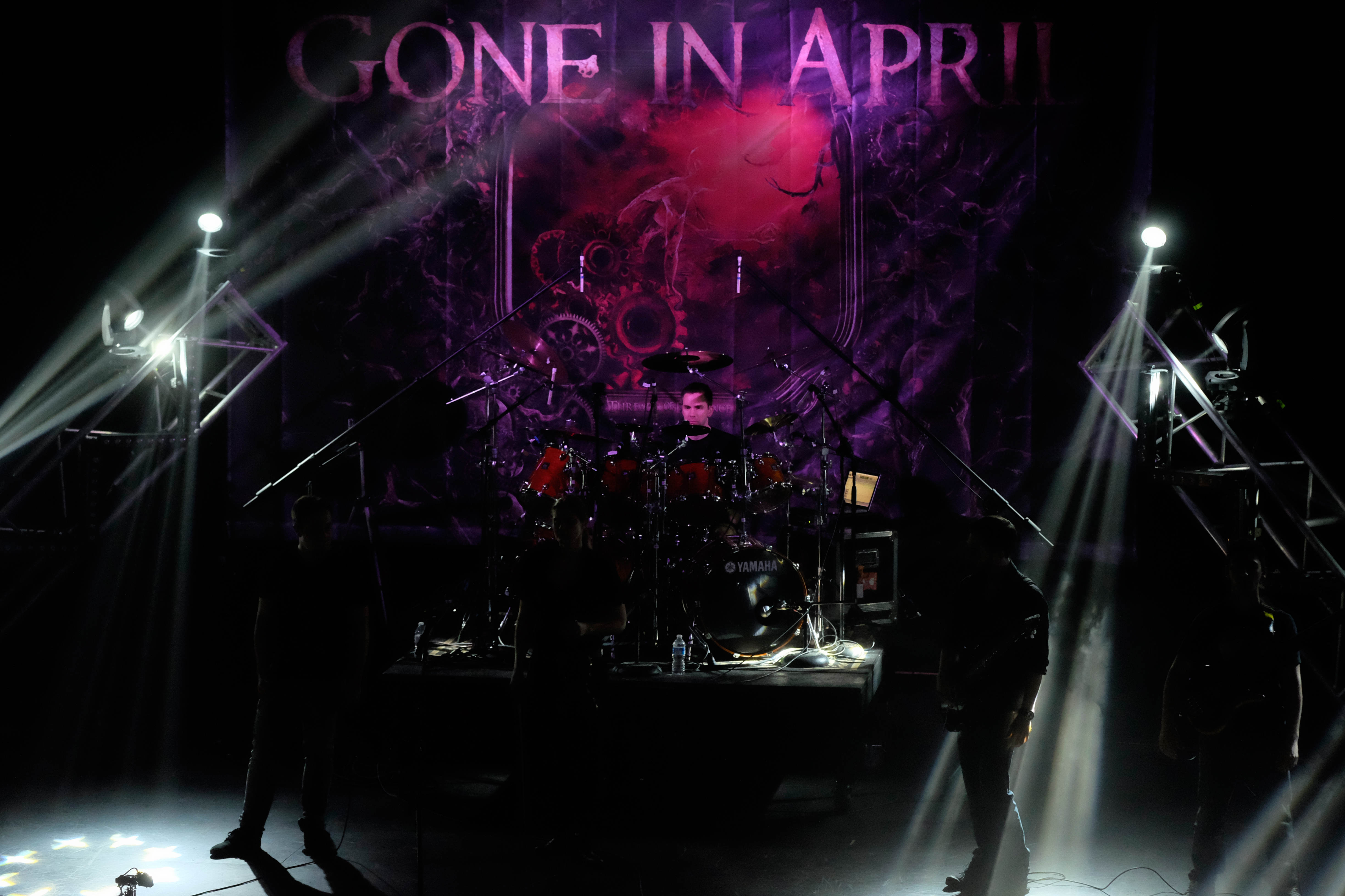 Gone in April band lineup